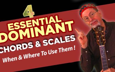 4 Essential Dominant Chords & Scales for Jazz