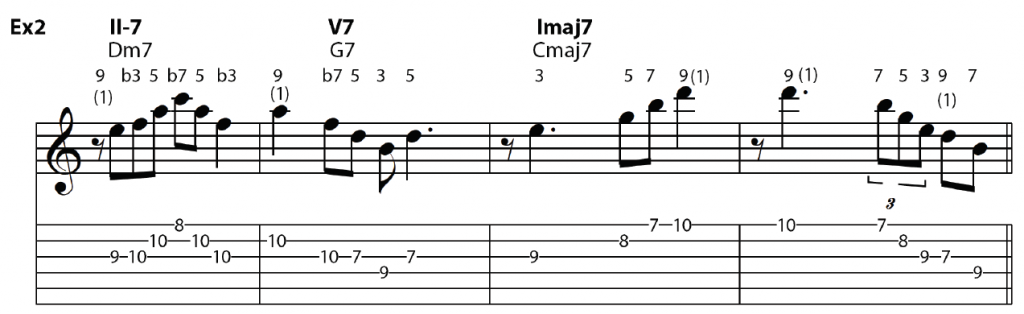 major II-V-I with 9s