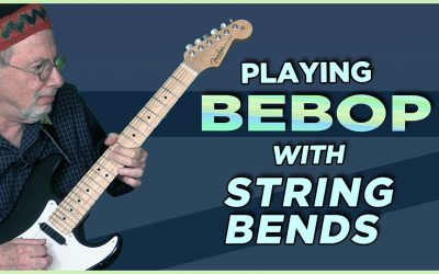 Playing Bebop with String Bends