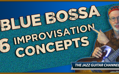 Blue Bossa Improvisation Concepts