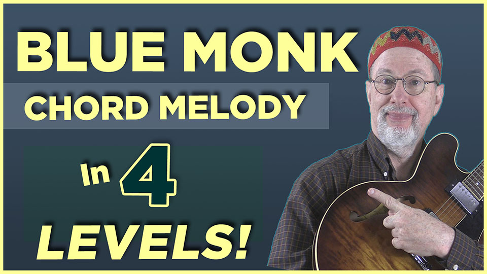 """Blue Monk"" in 4 Levels"