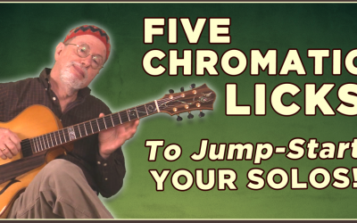 5 Chromatic Licks To Jump-Start Your Solos