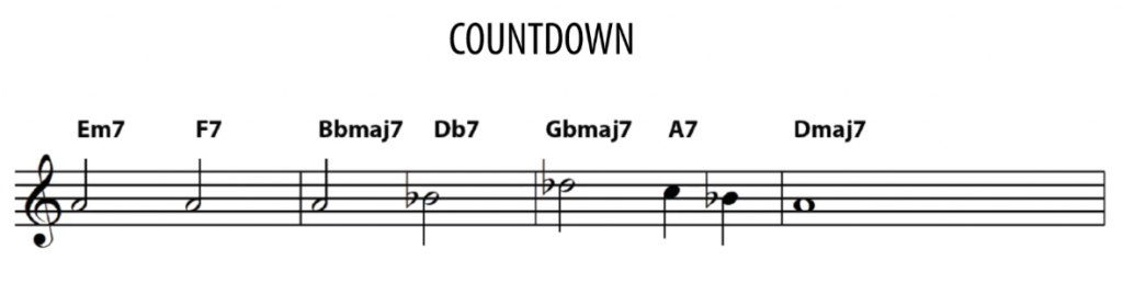 Countdown- measures 1-4