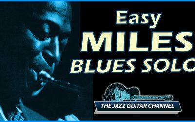Easy Miles Blues Solo