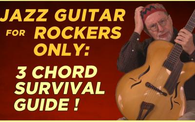Beginning Jazz Guitar for Rockers