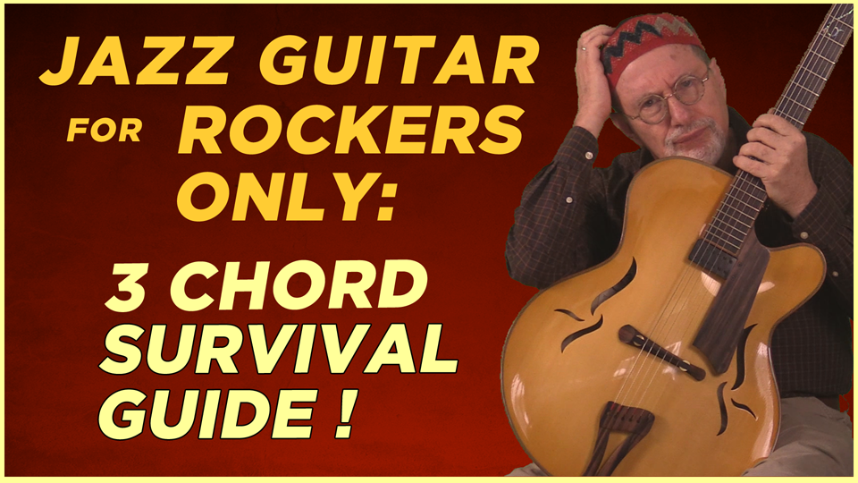 Beginning Jazz Guitar for Rockers