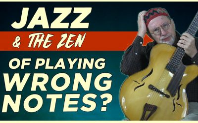 Jazz & The Zen of Playing Wrong Notes