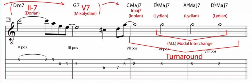 Lady Bird - measures 13-16