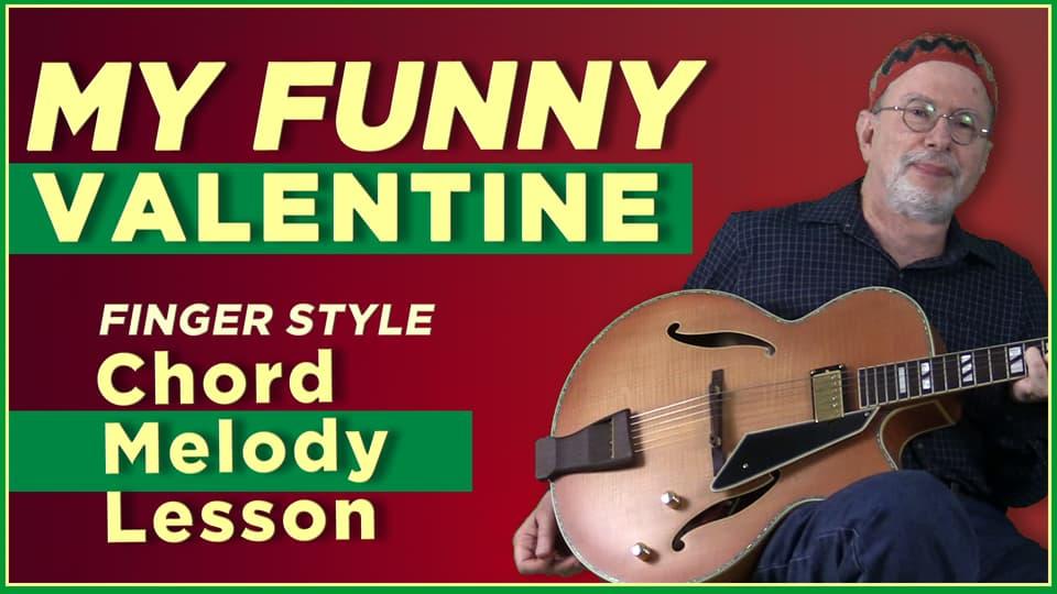 My Funny Valentine- Chord Melody