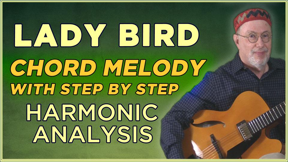 """""""Lady Bird"""" Chord Melody"""