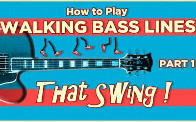 Walking Bass Lines That Swing